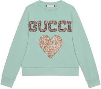 Gucci Liberty sweatshirt with patches