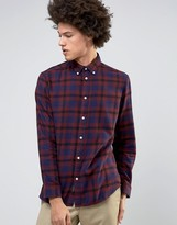 Selected Checked Shirt in Regular Fit