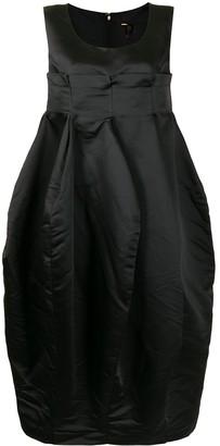 Comme des Garcons Inverted Pleat Dress
