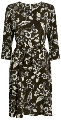 Max Mara Floral Mini Dress