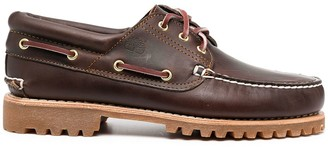Timberland Embossed Logo Boat Shoes