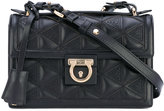Salvatore Ferragamo quilted shoulder bag - women - Leather - One Size
