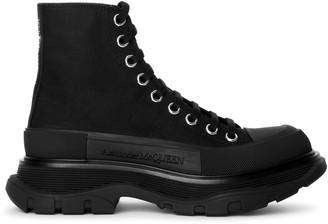 Alexander McQueen Tread slick boot black