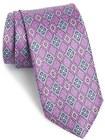 mens jz richards geometric silk tie