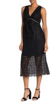 Joie Ardal Lace Midi Dress