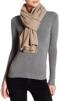 Portolano Nile Brown Cashmere Knit Shawl