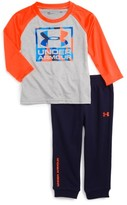 Under Armour Infant Boy's Graphic T-Shirt & Track Pants Set