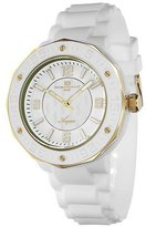 Oceanaut Women's 4AA1C3B04 Aqua White Rubber Watch
