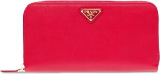 Prada Large Saffiano Leather Wallet