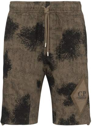 C.P. Company patterned elasticated waist shorts