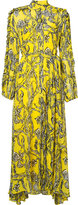 Ellery high neck floral dress - women - Silk - 6