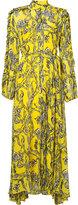 Ellery high neck floral dress - women - Silk - 6