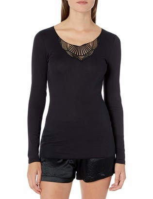 Hanro Women's Adina Long Sleeve Shirt