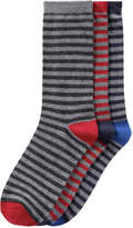 Joe Fresh Women's 3 Pack Print Socks, Multi (Size O/S)