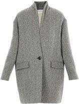 Etoile Isabel Marant edilon Grey Coat
