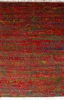 "Ecarpetgallery Hand-knotted Sari Silk Open Field 6'1"" x 9'4"" 100% Sari Silk area rug"