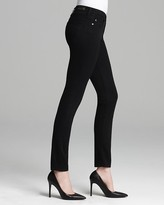 AG Adriano Goldschmied Jeans - The Prima Skinny Luscious Sateen in Super Black