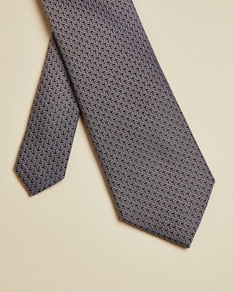 Ted Baker Silk Jacquard Branded Tie