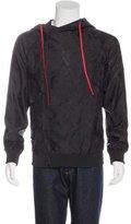 Alexander McQueen Jacquard Hooded Jacket