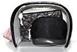 Victoria's Secret Cosmetic Bag Black Lace Trio