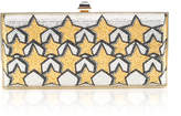 Judith Leiber Couture Large Coffered Rectangle Stars Clutch