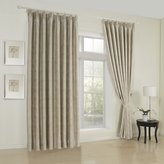 "MICHELE HOME FASHION 100""W x 63""L (Set of 1 panel) 20 sizes Available Custom Modern Geometric Jacquard Beige Blackout Window Treatment Draperies & Curtains Panels"