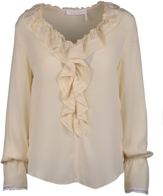 See by Chloe Blouse With Rouches