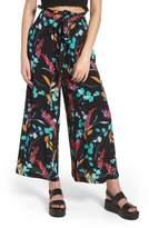 BP Floral Paperbag Waist Pants