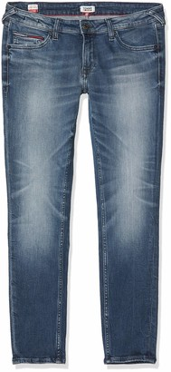 Tommy Jeans Women's Sophie Low Rise Skny Ankle Qnscl Straight Jeans