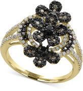 Effy Caviar by Diamond Cluster Ring (1 ct. t.w.) in 14k Gold