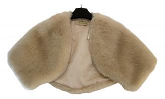 Julien Macdonald Julien Mac Donald Beige Faux fur Jacket for Women