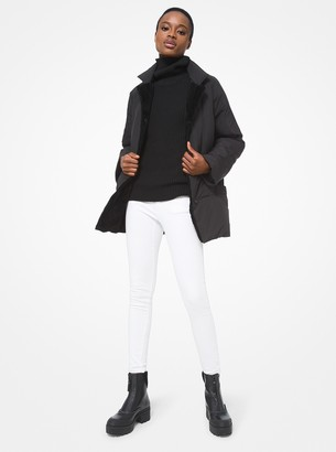 MICHAEL Michael Kors Shearling Lined Quilted Puffer Jacket