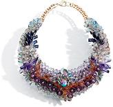 Swarovski Crystals & Plastic Necklace