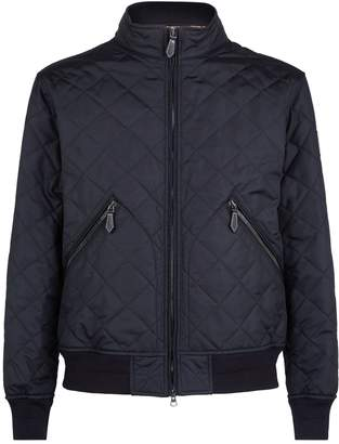 Burberry Quilted Bomber Jacket