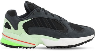adidas Yung-1 Trail Mesh & Suede Sneakers