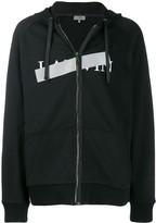 Lanvin taped logo zipped jacket