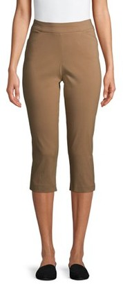 Time and Tru Women's Millennium Capri Pants