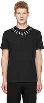 Neil Barrett Black Thunderbolt T-Shirt