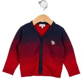 Paul Smith Boys' Long Sleeve Button-Up Cardigan