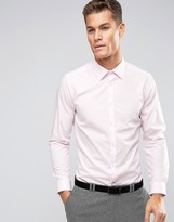 Burton Menswear Slim Pink Shirt