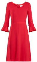 Goat Chiara wool-crepe dress