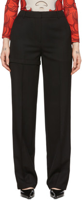 pushBUTTON Black Transformer Two-Way Trousers