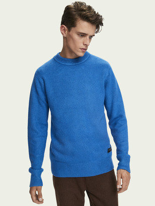 Scotch & Soda Soft knit crewneck pullover | Men