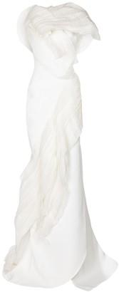 Maticevski Bridal Serene organza-trimmed gown