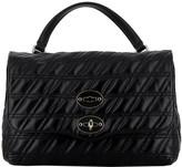 Zanellato Black Leather Handbag