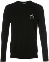 Givenchy star motif jumper - men - Cashmere - S
