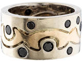 Ring Black Diamond Band