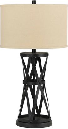 Cal Lighting Calighting 3-Way Passo Iron Table Lamp