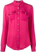 Balmain long sleeve blouse - women - Silk - 38