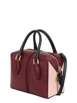 Tod's D-Cube Leather Mini Bauletto Bag